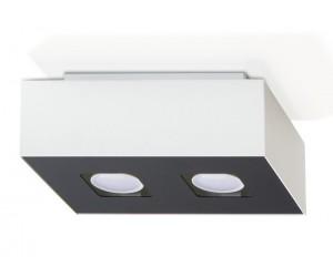 Plafon MONO 2 Biały SOLLUX