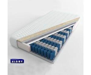 VISBY: GOTEBORG LONG - materac kieszeniowy Wełna