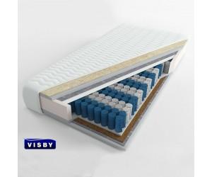 VISBY: KARLSKRONA LONG - materac kieszeniowy Kokos Wełna