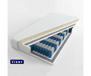 VISBY: CARAT LONG - materac kieszeniowy Pianka Wysokoelastyczna