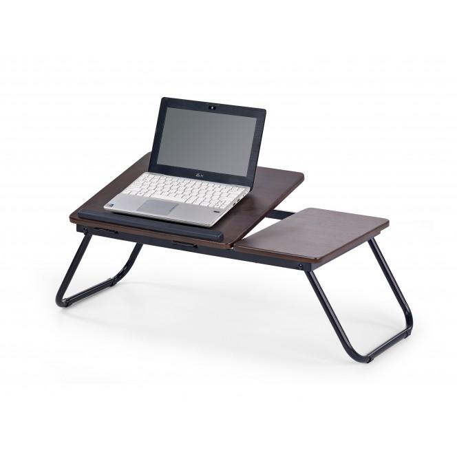 Stolik na laptopa B19 czarny HALMAR