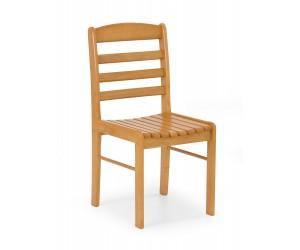 BRUCE krzesło olcha złota (1p 2szt)