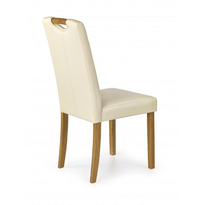 Krzesło CARO kremowe HALMAR