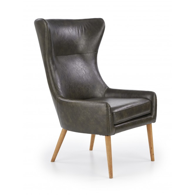 Fotel wypoczynkowy FAVARO zielony HALMAR