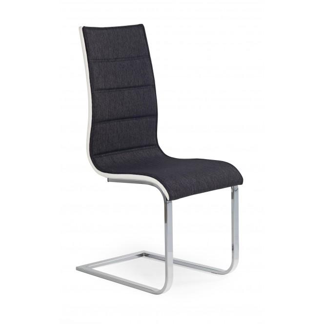 Krzesło metalowe K105 grafitowe HALMAR