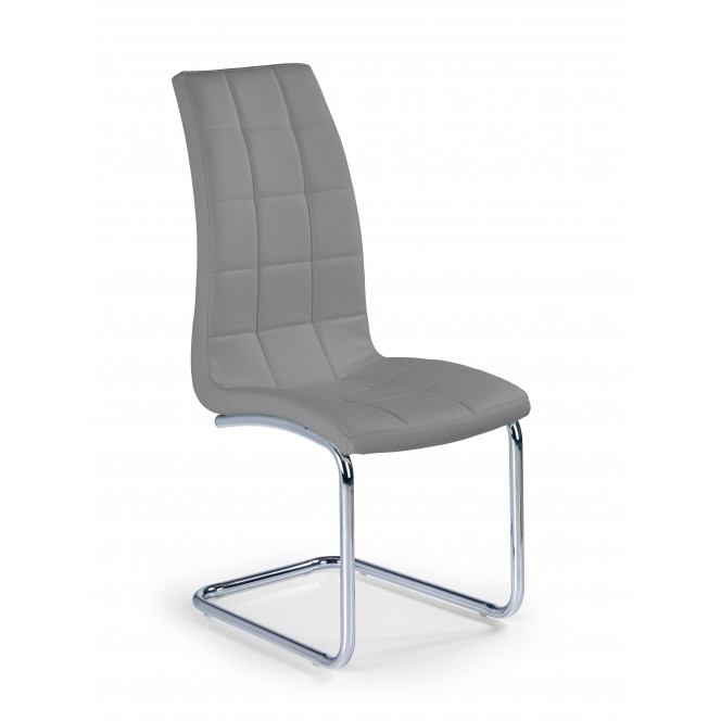 Krzesło metalowe K147 popielate HALMAR