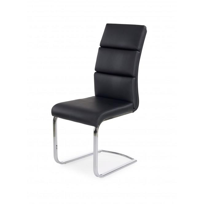 Krzesło metalowe K230 czarne HALMAR