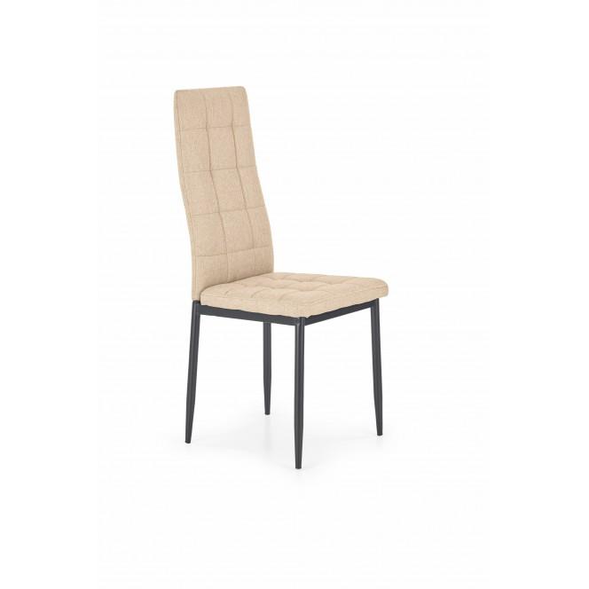 Krzesło metalowe K292 beżowe HALMAR