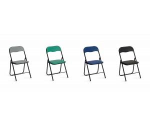 Krzesło metalowe K5 czarne...