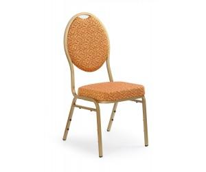 Krzesło metalowe K67 złote...