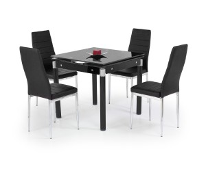 Stół KENT czarny HALMAR