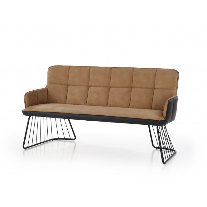 Sofa L1 jasnobrązowa HALMAR