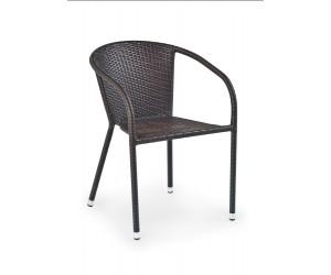 MIDAS krzesło ciemny brąz (1p 1szt)