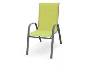 MOSLER krzesło ogrodowe zielone