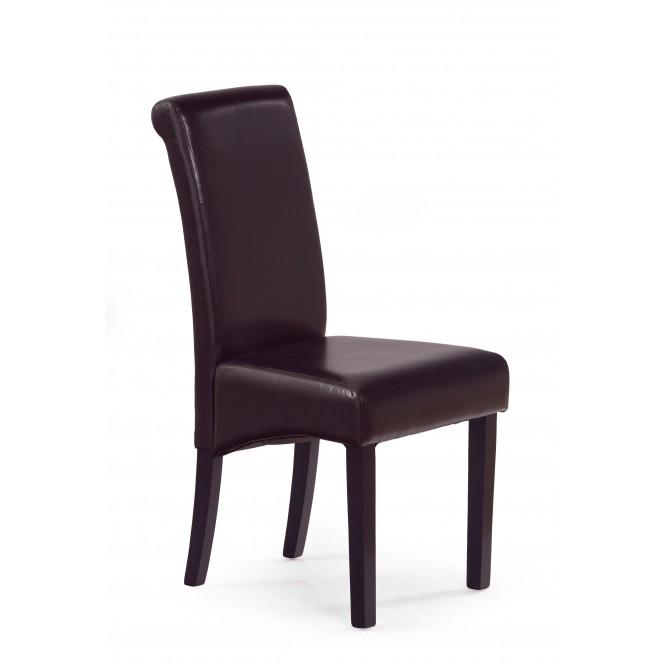 Krzesło drewniane NERO wenge HALMAR