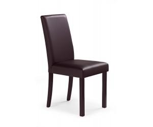NIKKO krzesło ciemny orzech/ciemny brąz (1p 2szt)