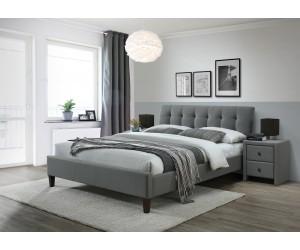 SAMARA 2 160 łóżko tkanina popiel (2p 1szt.)