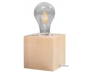 Lampa biurkowa ABEL naturalne drewno