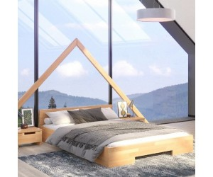 Łóżko drewniane bukowe Skandica SPECTRUM Long