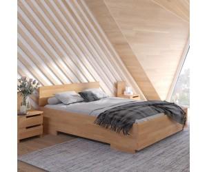 Łóżko bukowe Visby BERGMAN High BC