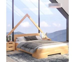 Łóżko drewniane bukowe Skandica SPECTRUM Maxi