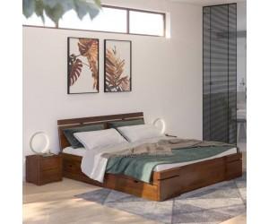 Łóżko drewniane sosnowe z szufladami Skandica SPARTA Maxi & DR