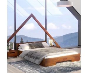 Łóżko drewniane sosnowe Skandica SPECTRUM Niskie