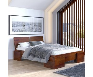 Łóżko sosnowe Visby ARGENTO High