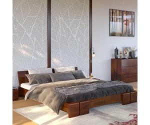 Łóżko drewniane sosnowe Skandica VESTRE Niskie