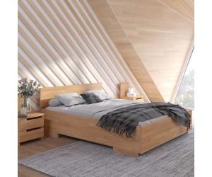 Łóżko bukowe Visby BERGMAN High
