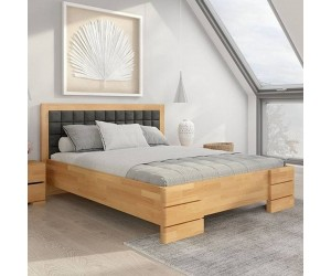 Łóżko bukowe Visby GOTLAND High