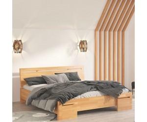 Łóżko bukowe Visby SALERNO High