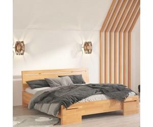 Łóżko bukowe Visby SALERNO High BC