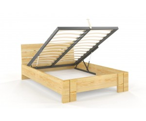 Łóżko sosnowe Visby ARHUS High & BC