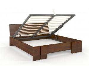 Łóżko drewniane sosnowe ze skrzynią na pościel Skandica VESTRE Maxi &  ST