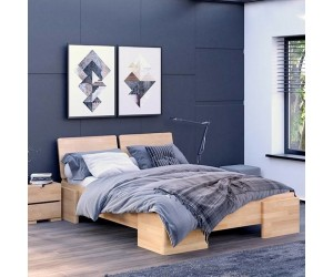 Łóżko bukowe Visby ARGENTO High
