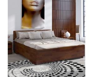 Łóżko sosnowe Visby BERGMAN High