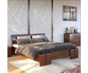 Łóżko drewniane sosnowe Skandica VESTRE Maxi