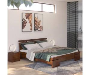 Łóżko drewniane sosnowe Skandica SPARTA Maxi