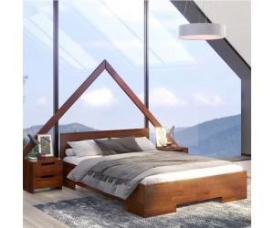 Łóżko drewniane sosnowe ze skrzynią na pościel Skandica SPECTRUM Maxi & Long ST