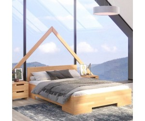 Łóżko drewniane bukowe Skandica SPECTRUM Maxi&Long