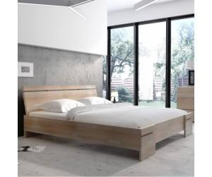 Łóżko drewniane bukowe ze skrzynią na pościel Skandica SPARTA Maxi & ST