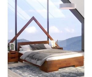Łóżko drewniane sosnowe Skandica SPECTRUM Maxi & Long