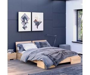 Łóżko bukowe Visby ARGENTO