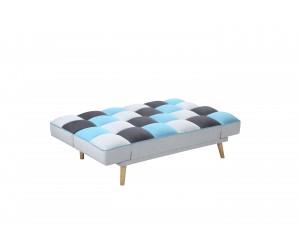 BOJAN sofa rozkładana wielobarwny