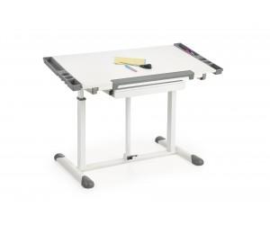 B42 biurko, kolor: biały - popielaty (1p 1szt)
