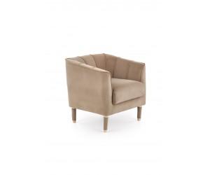 BALTIMORE fotel wypoczynkowy ciemny beż