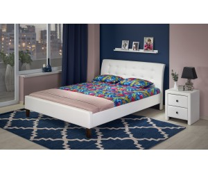 SAMARA 180 łóżko biały