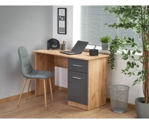 ELMO biurko dąb wotan / antracyt (1p 1szt)