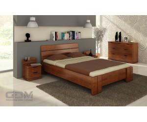 Łóżko bukowe ARHUS HIGH & LONG